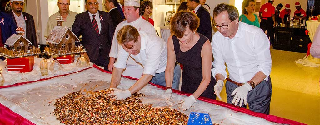 Galle Face Hotel Hosts Christmas Cake Mixing Event
